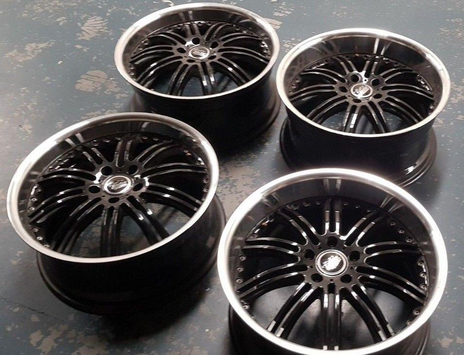 Bmw 3 Series Holden Commodore Black Chrome Deep Dish Wheels X9 5 Rear Rims